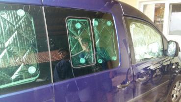 Thermomatten Caddy Mitte - Schiebefenster rechts Beifahrer Premium 2003 - 02/2020