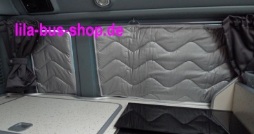 Thermomattenset Wohnraum Ford Nugget 6tlg. bis 2013 OHNE Schiebefenster Premium